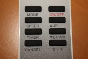 The remote.